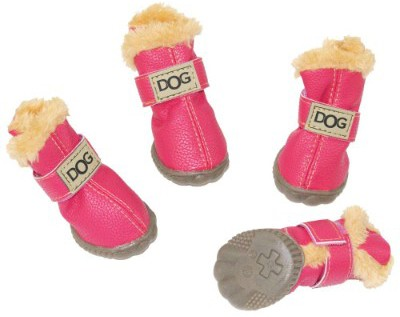 WINSOON Dog Australia Boots Pet Antiskid Shoes Winter Warm Skidproof Sneakers Paw Protectors
