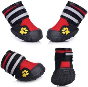 Fantastic Zone Waterproof Dog Shoes for Various Size Dogs Labrador Husky Paw Protectors Shoes