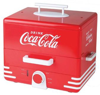 Nostalgia HDS248COKE Coca-Cola Hot Dog Steamer