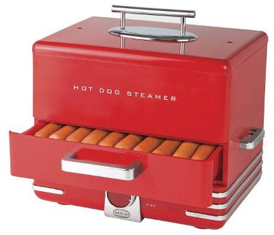 Nostalgia Large HDS248RD INNOVA Hot Dog Steamer