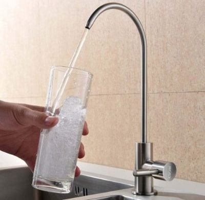 ESOW Kitchen Water Filter Faucet, 100% Lead-Free Drinking Water Faucet