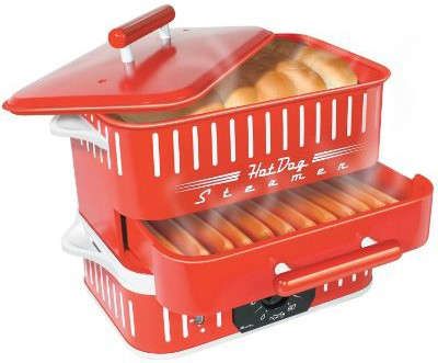 CuiZen CST-1412B Best Hot Dog Steamer, Small