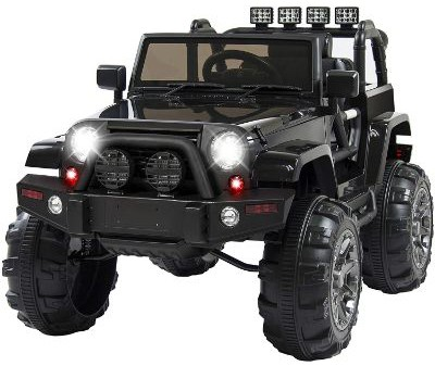 Best Choice Products 12V Ride On Car Truck w: Remote Control, 3 Speeds, Spring Suspension, LED Light