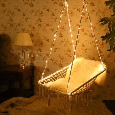 KINDEN Hammock Chair With Lights