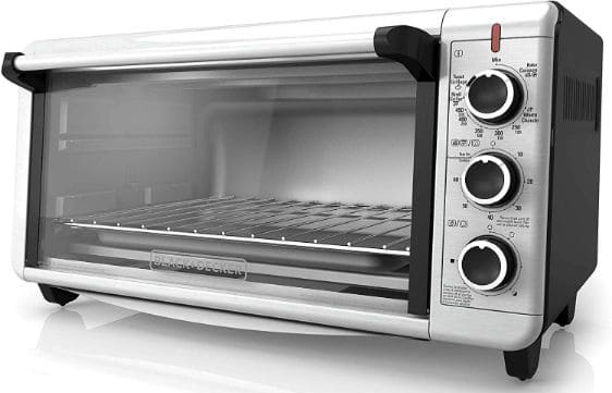 BLACK+DECKER TO3240XSBD Convection Countertop Toaster Oven
