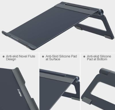 Nulaxy Adjustable Laptop Stand, Laptop Riser