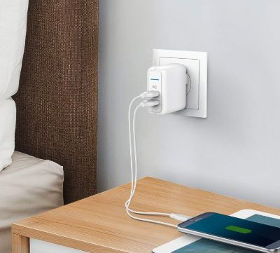 Anker Elite USB Charger, Dual Port 24W Wall Charger