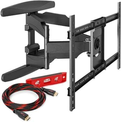 Heavy-Duty Full Motion TV Wall Mount - Articulating Swivel