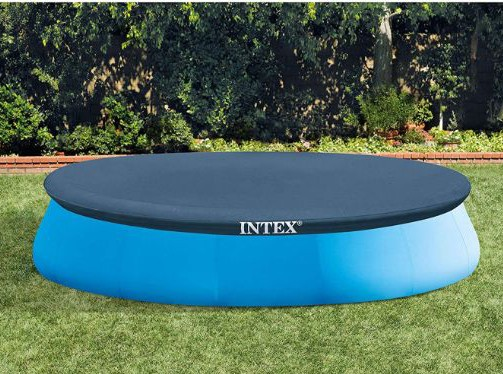 Intex 15-Foot Round Easy Set Pool Cover