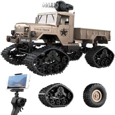 REMOKING RC Hobby Toys Military Truck Off-Road Sport Cars