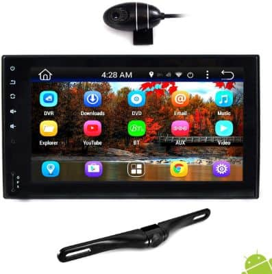 Premium 6.5 Double-DIN Android Car Stereo Receiver