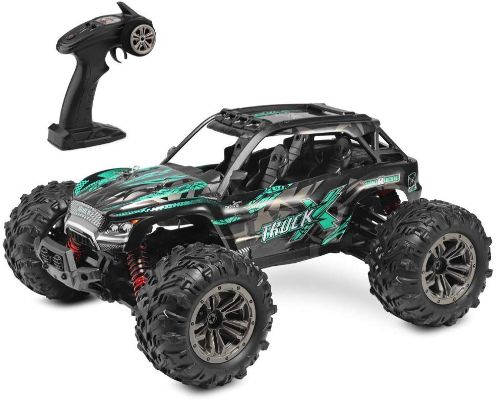 RC Truck 1- 16 All Terrain RC Car, 36km:h 4WD Off-Road RC Trucks, 2.4Ghz High Speed RC Cars