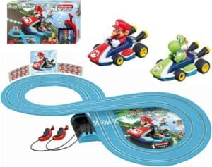 Carrera First Nintendo Mario Kart Slot Car Race Track