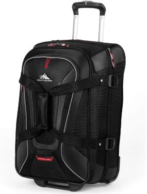 High Sierra 57018-1041 AT7 Rolling Upright Duffel Bag