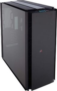 CORSAIR OBSIDIAN 1000D Super-Tower Case, Smoked Tempered Glass