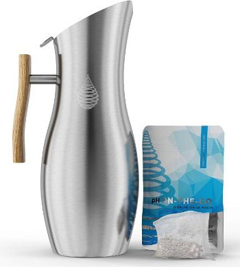 Invigorated Water pH Vitality Stainless Steel Alkaline Water Pitcher