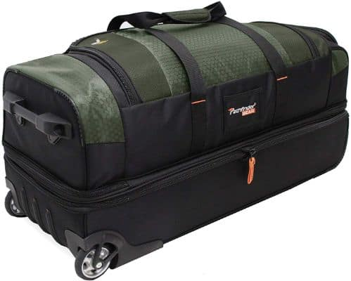 Pathfinder Gear 26 Inch Rolling Drop Bottom Duffel