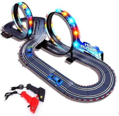 StarryBay 1:43 Scale Electric RC Slot Car Racing Track Sets