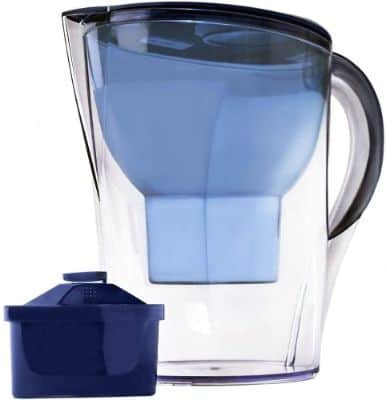 Lake Industries Premium Great Tasting Alkaline Water Pitcher