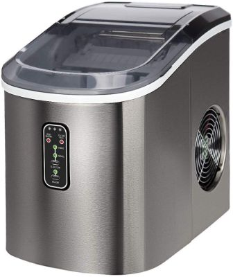 Euphomy Countertop Ice Maker Machine Makes 26 lbs Ice in 24 hrs-Ice Cubes