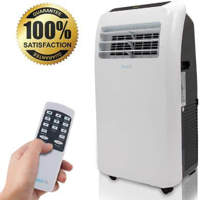 SereneLife 10,000 BTU Portable Air Conditioner + 9,000 BTU Heater, 4-in-1 AC Unit with Built-in Dehumidifier