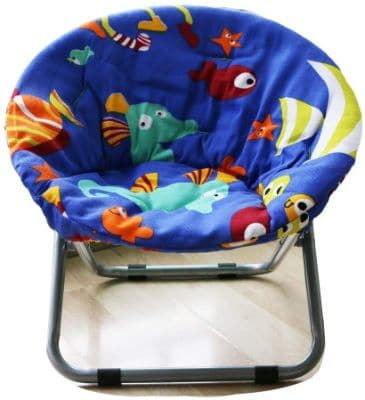 Comfortable Kids Folding Moon Chair for Indoor and Outdoor