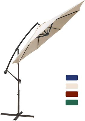 HASLE OUTFITTERS Offset Patio Umbrella 10FT