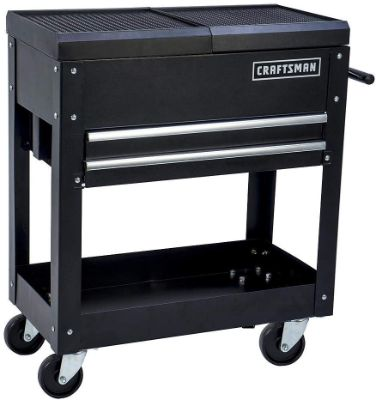 Craftsman Tool Box Cart, 350 Lb Large Capacity