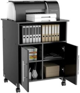 Yaheetech Rolling Printer Stand with Storage for Office Home