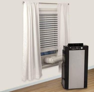 EdgeStar AP14001HS Portable Air Conditioner and Heater with Dehumidifier and Fan