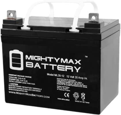 Mighty Max Battery 12V 35AH SLA Battery for John Deere Tractor Riding Mower