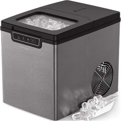 Vremi Countertop Ice Maker - Ice Cubes Ready in 9 Minutes