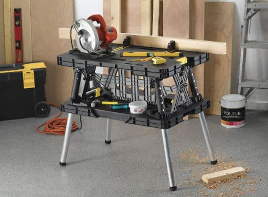 Keter Folding Table Work Bench For Woodworking Tools