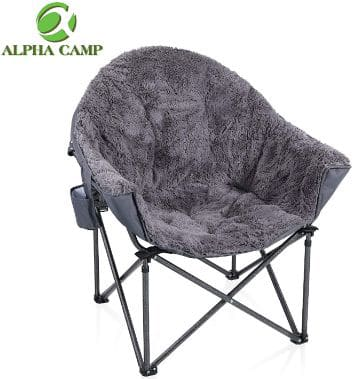 ALPHA CAMP Deluxe Plush Dorm Chair