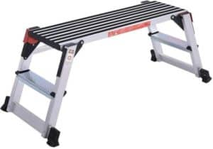 Giantex Aluminum Platform Non-Slip Folding Work Bench