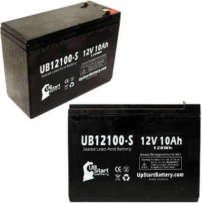 2X Pack UpStart Battery Replacement for Neuton Mowers CE5 Battery