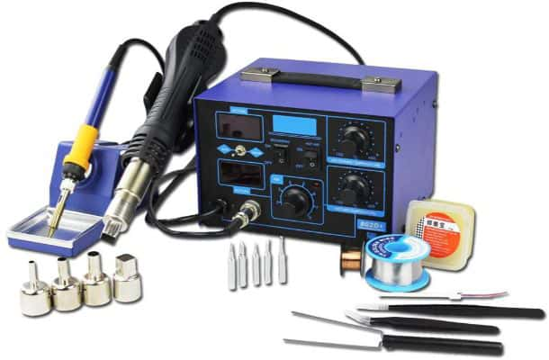 BACOENG 2in1 SMD Soldering Station 862D+