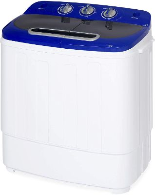 Best Choice Products Portable Compact Twin Tub Laundry Machine