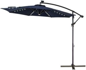 C-Hopetree 10' LED Lighted Outdoor Offset