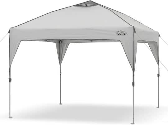 CORE 10' x 10' Instant Shelter Pop-Up Canopy Tent