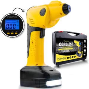 Cordless Air Compressor Tire Inflator - Powerful Portable Pump