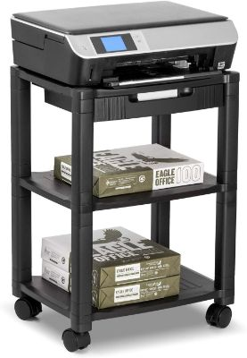 Halter LZ-308 Rolling Printer Cart Machine Stand