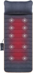Massage Mat with 10 Vibrating Motors and 4 Therapy Heating pad