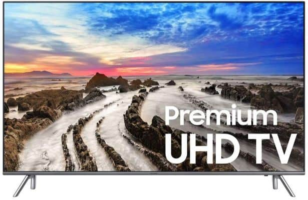 Samsung Electronics UN75MU8000 75-Inch 4K Ultra HD Smart LED TV