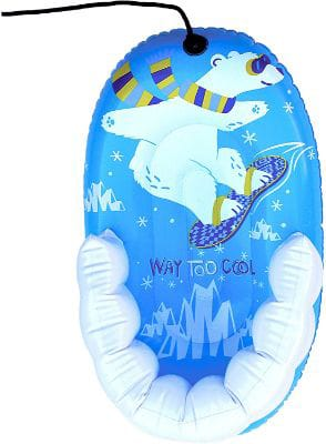 Pipeline SNO Snow-Pal Inflatable 1 Person Snow Tube