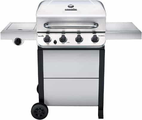 463377319 Performance 4-Burner Cart Style Liquid Propane Gas Grill