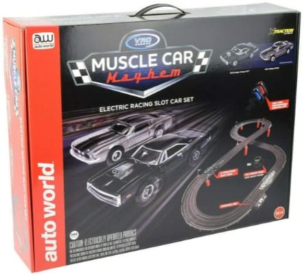 Electric Racing Slot Car Set