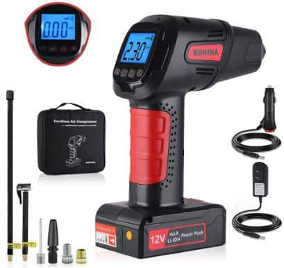 Portable Cordless Tire Inflator