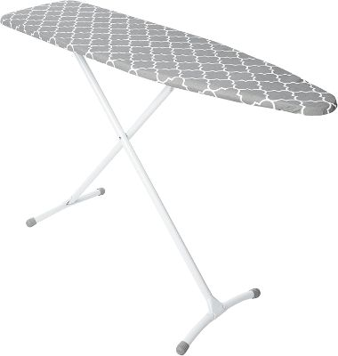 Steel Ironing Board Contour Grey & White Cover