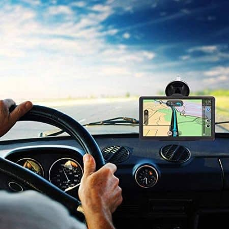7 inch 8GB 256MB Car Truck Lorry Satellite -GPS Navigation System